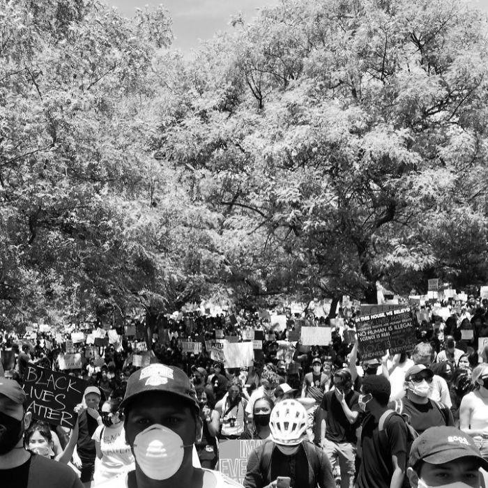 george floyd protesto eden ünlüler