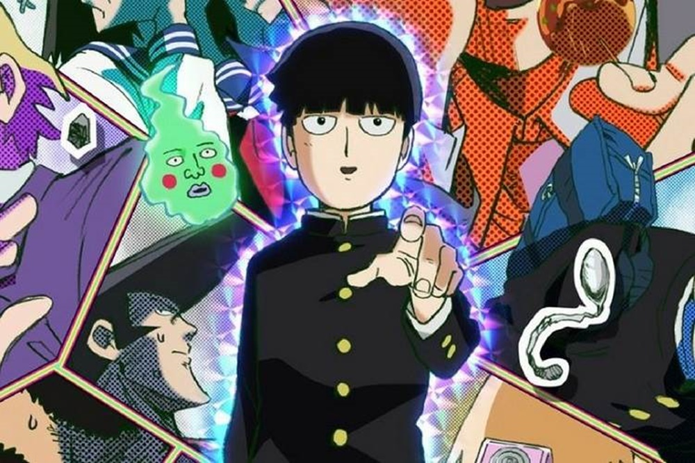 Anime dizisi Mob Psycho 100