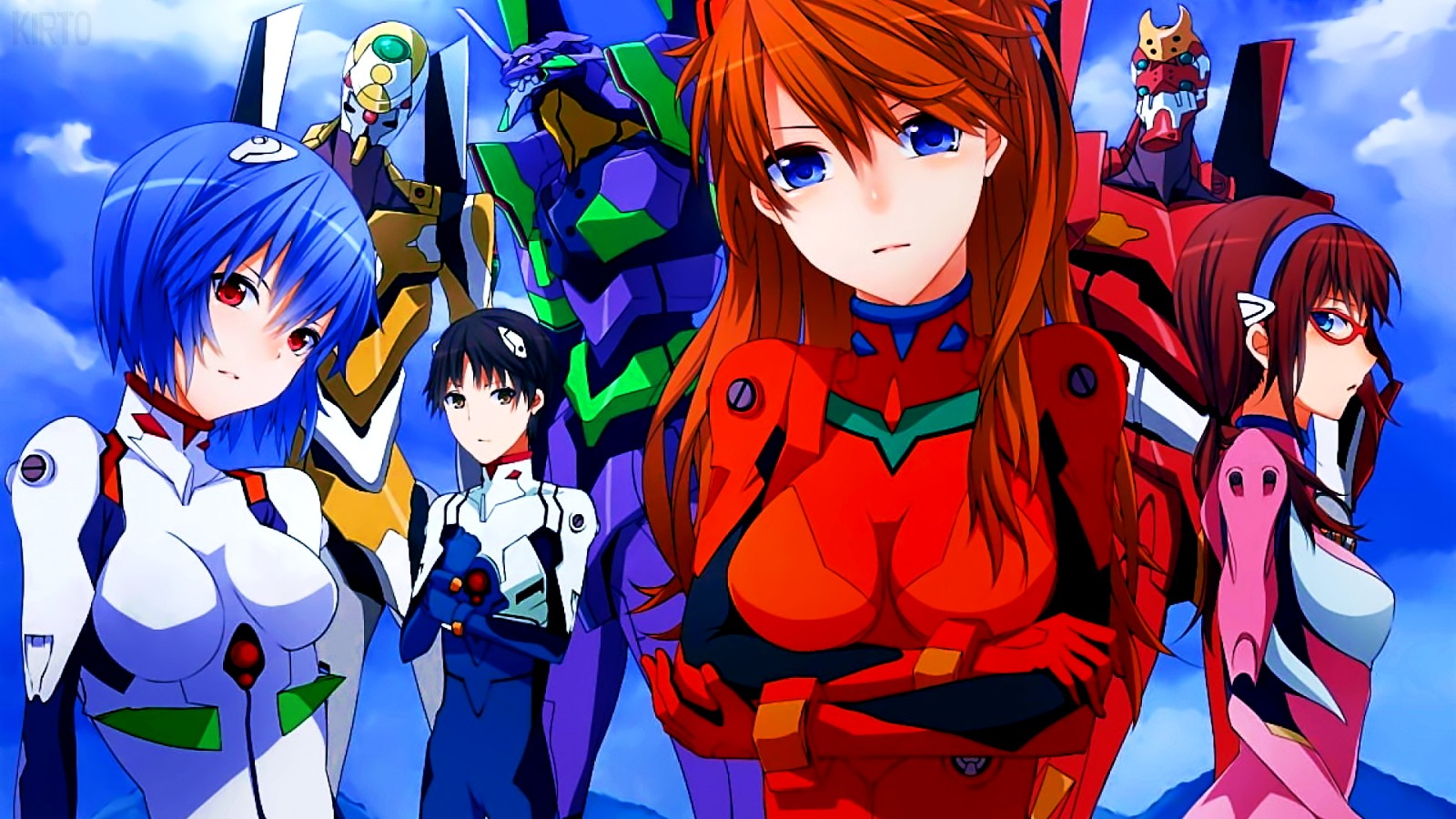 Anime dizisi Neon Genesis Evangelion