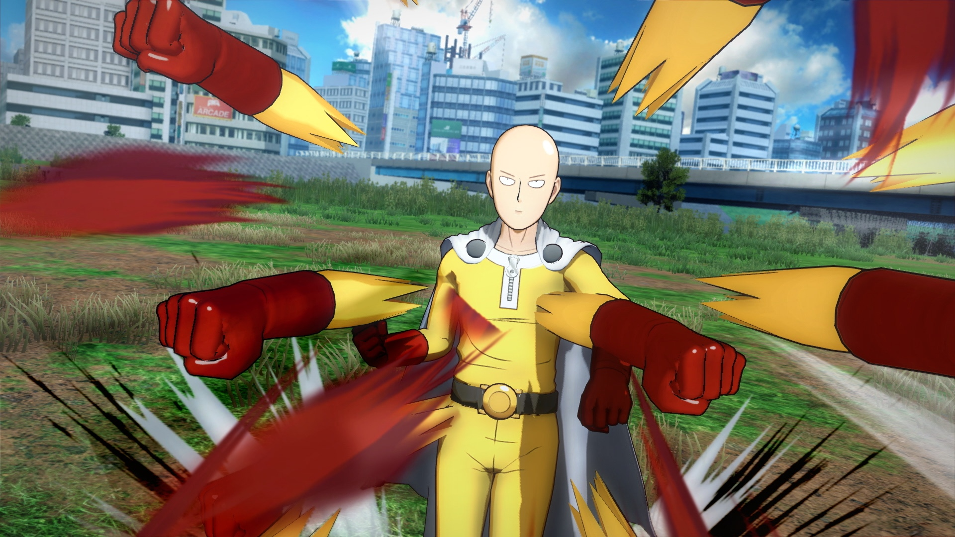 Anime dizisi One Punch Man