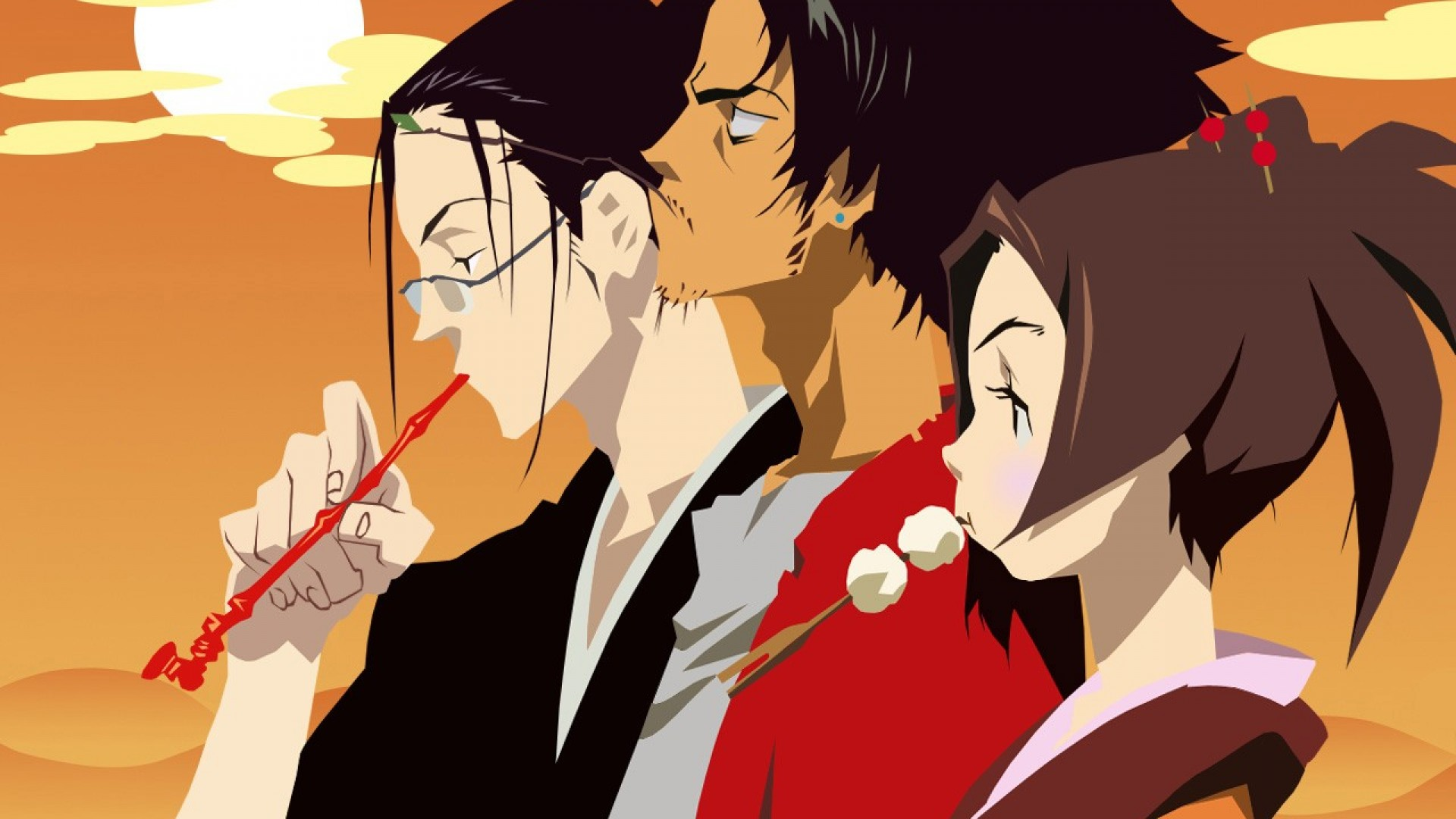 En iyi anime diziler Samurai Champloo