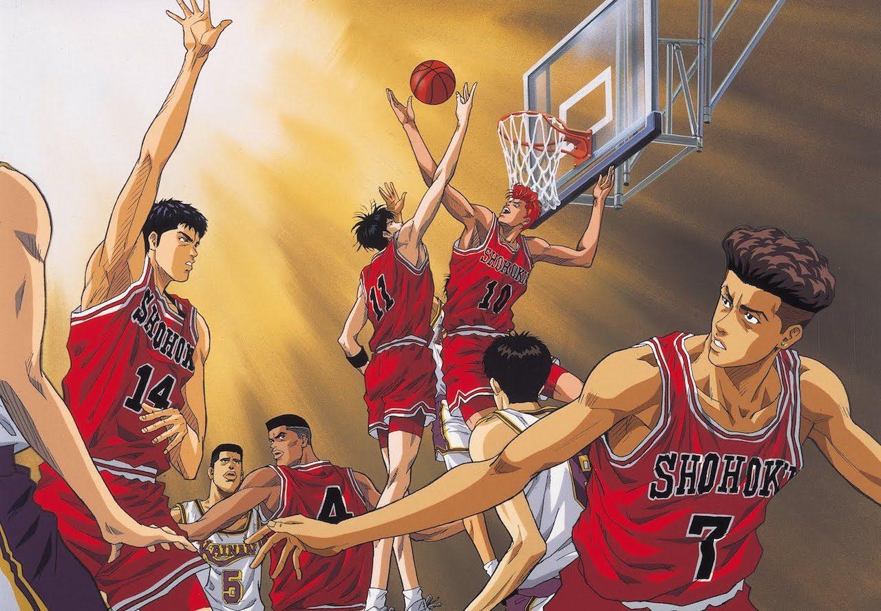 En iyi anime diziler Slam Dunk