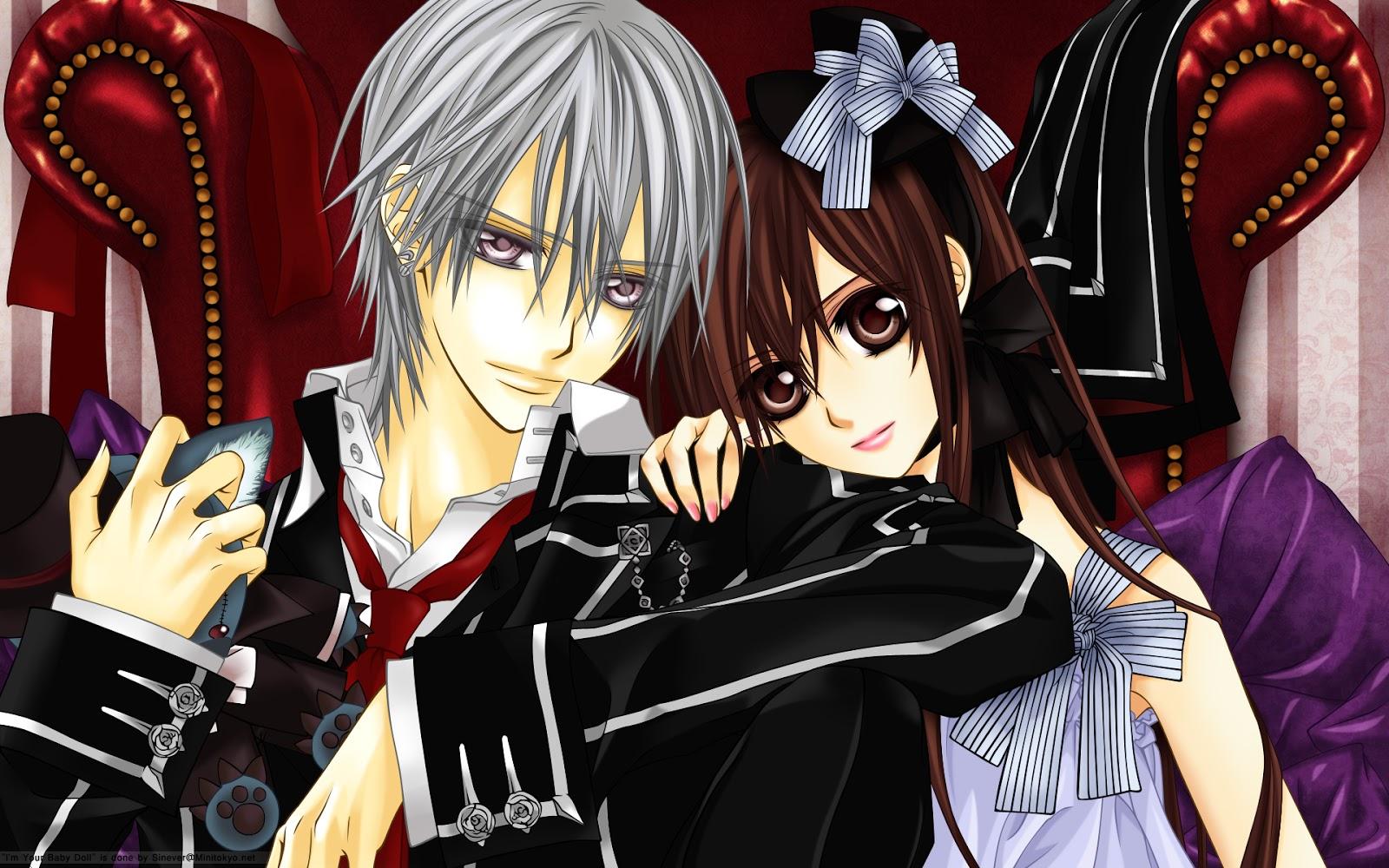 Anime dizisi Vampire Knight