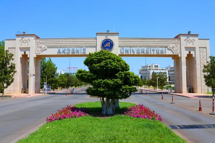 Akdeniz Üniversitesi girişi