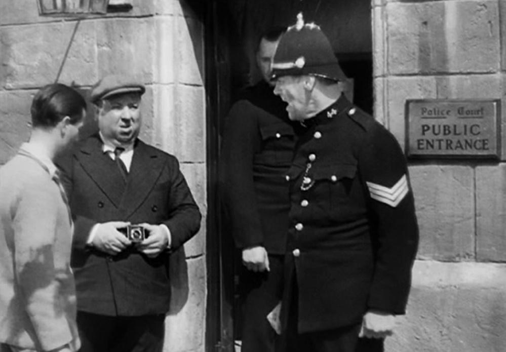 Alfred Hitchcock'un polis korkusu