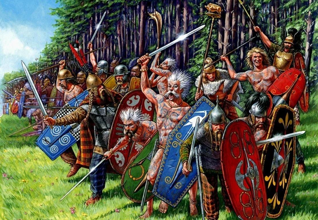 Antik Keltler hakkında bilgiler