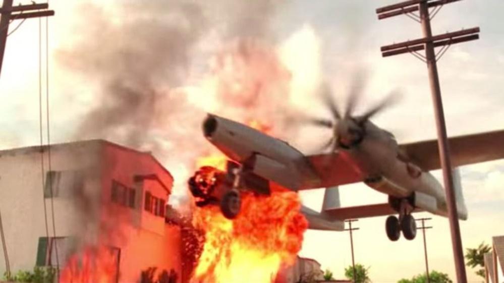 Aviator uçağı indirme sahnesi