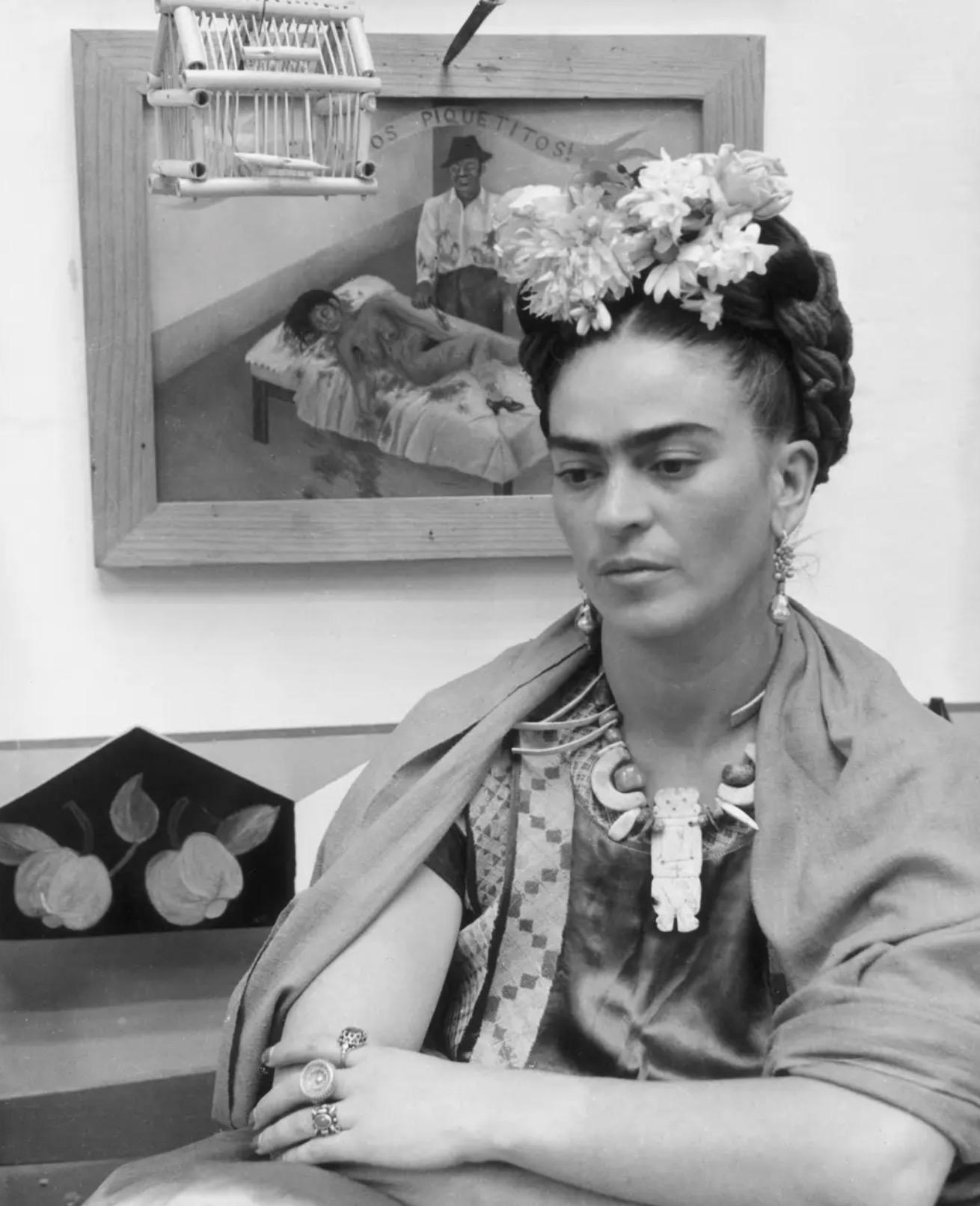 frida kahlo fotoğrafları