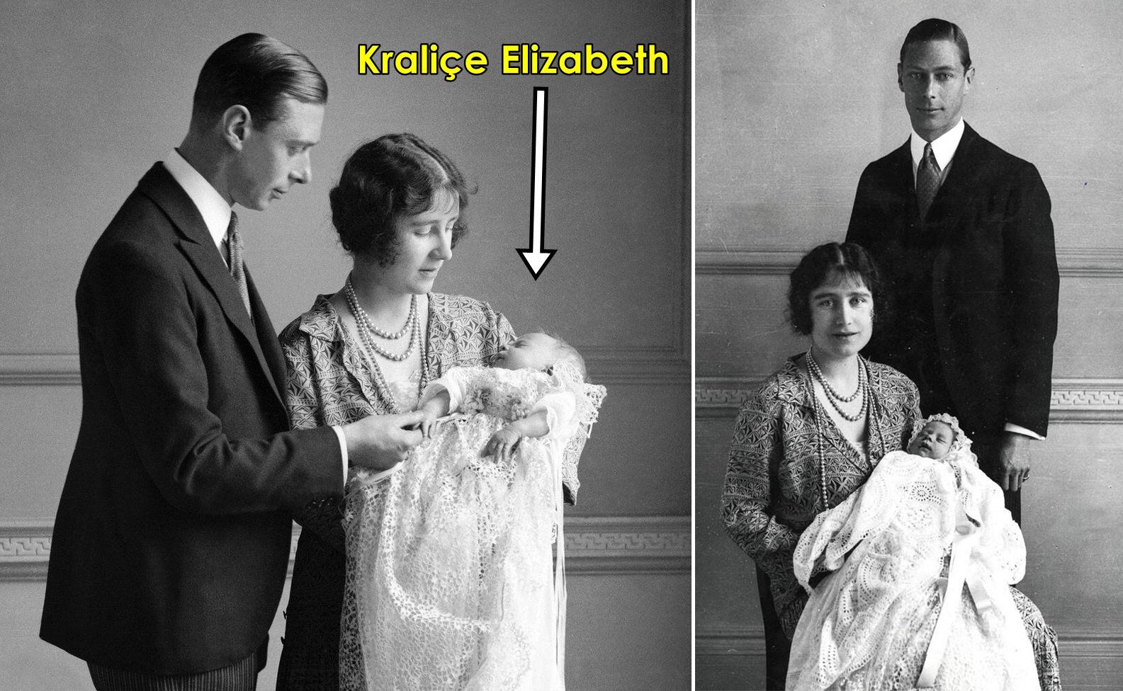 Kraliçe Elizabeth'in bebekliği