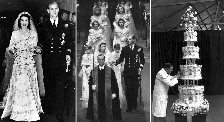 Kraliçe Elizabeth'in düğünü