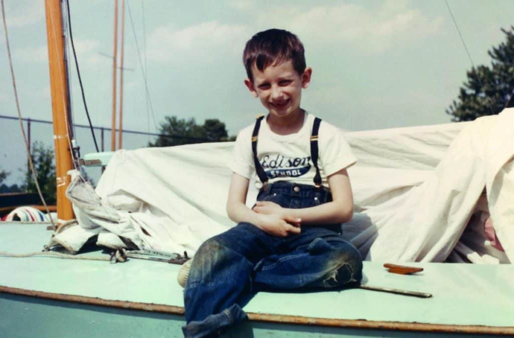 Steven Spielberg'ün çocukluk hali