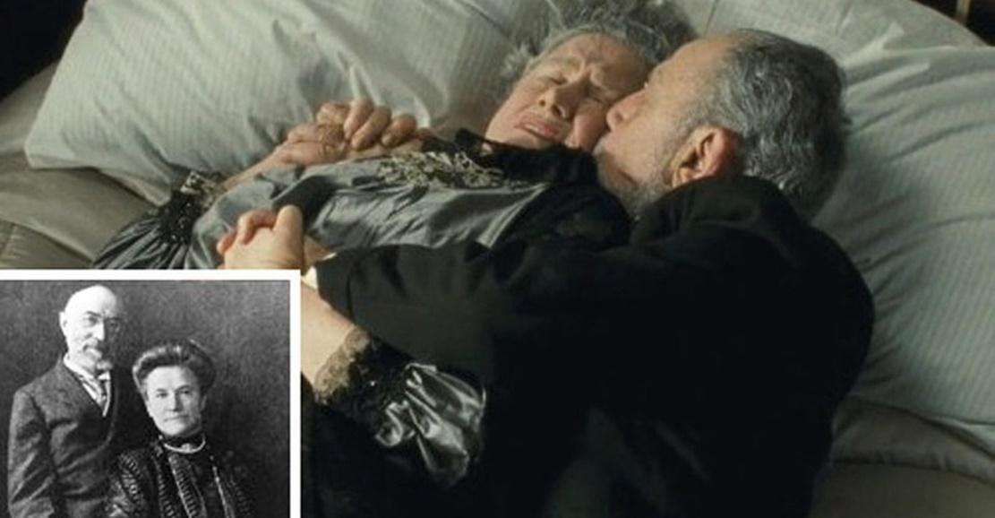 Titanik'te ölümü bekleyen çift