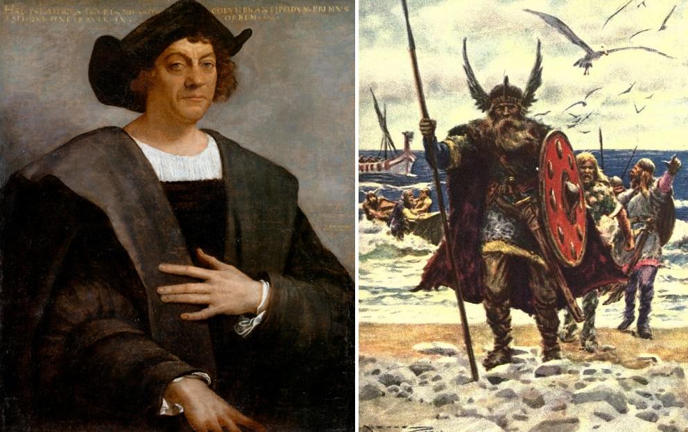 Kristof Kolomb ve Vikingler