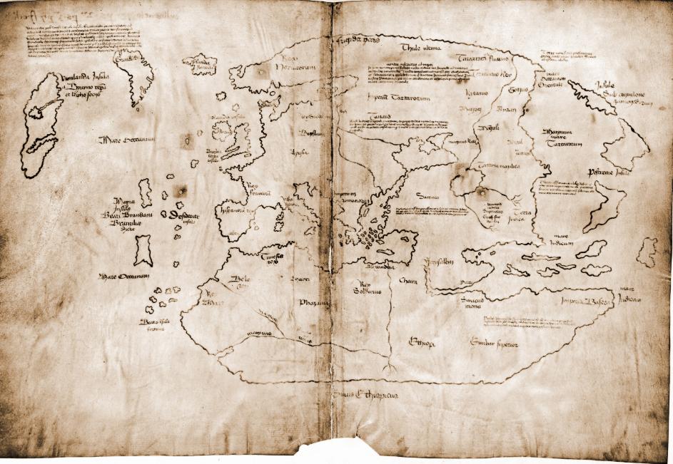 Vinland haritasının fotoğrafı