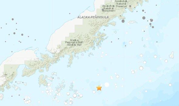 alaskada deprem