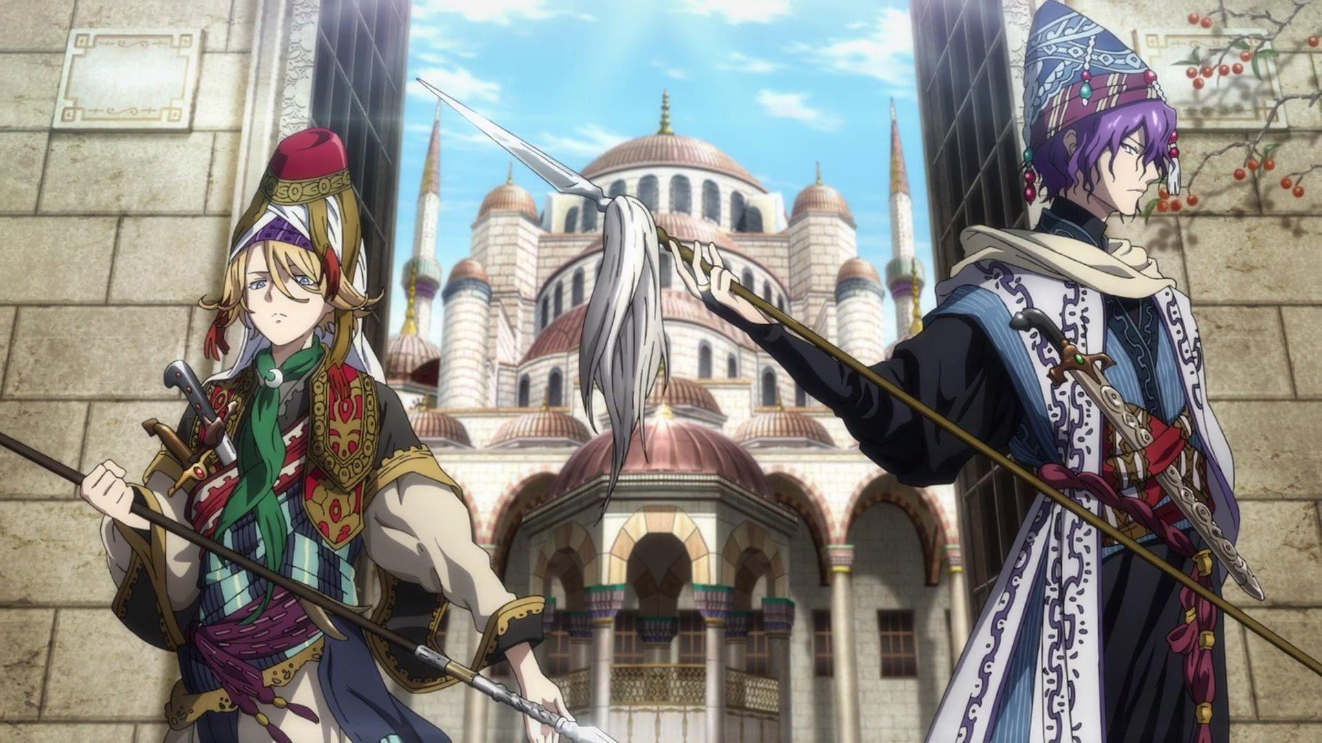 Shōkoku no Altair osmanlı anime
