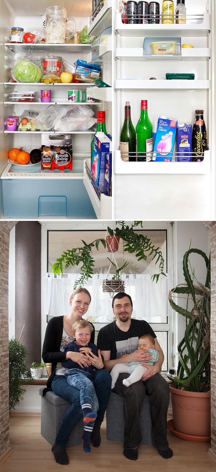 buzdolapları ve sahipleri