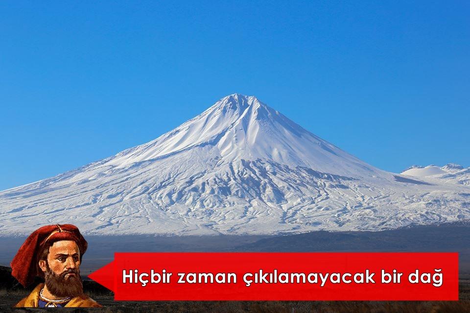 Türkiye'nin en yüksek dağı Ağrı Dağı ve Marco Polo