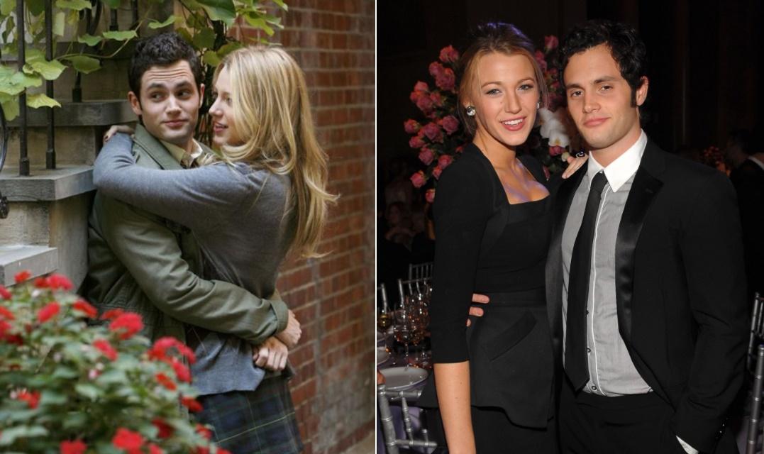 rol gereği kardeş olan çiftler Gossip Girl'de Blake Lively ve Penn Badgley