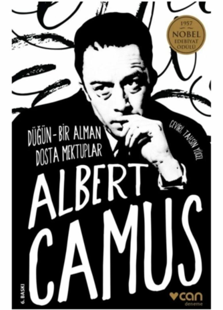 Albert Camus kitapları Düğün ve Bir Alman Dosta Mektuplar adlı kitap