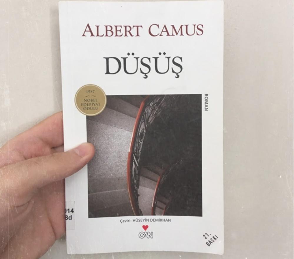 Albert Camus kitapları Düşüş adlı kitap