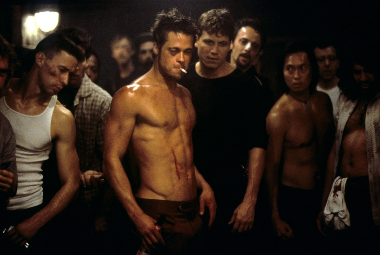 Brad Pitt filmleri Fight Club (1999)