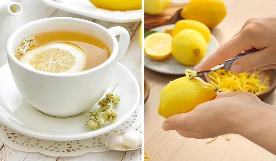 Limon kabuğunun kullanım şekilleri