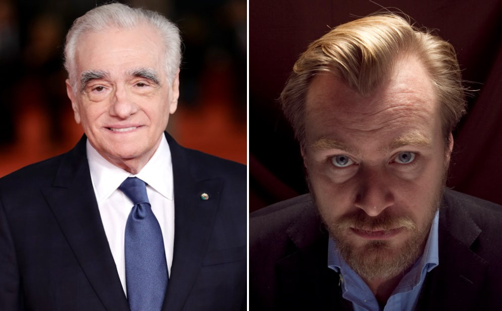 Martin Scorsese ve Christopher Nolan