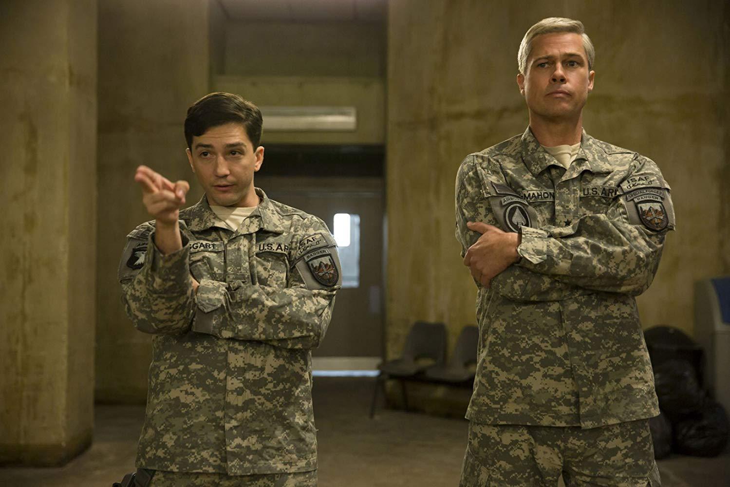 Brad Pitt filmleri Savaş Makinesi (2017)