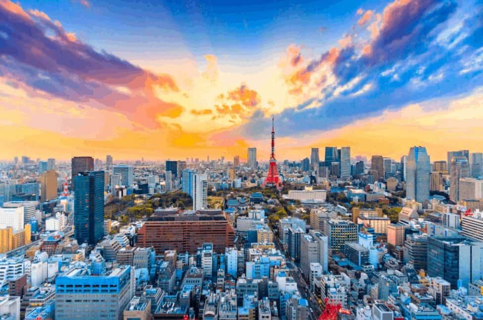 dünyanın en kalabalık şehri Tokyo şehri
