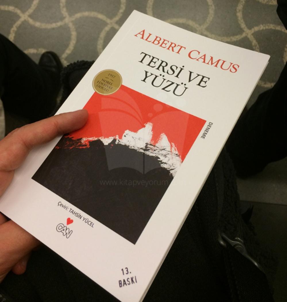 Albert Camus kitapları Tersi ve Yüzü adlı kitap