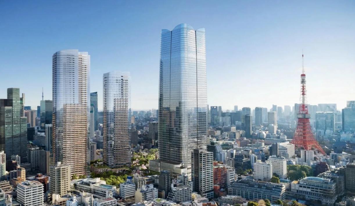 dünyanın en kalabalık şehri Tokyo binalar