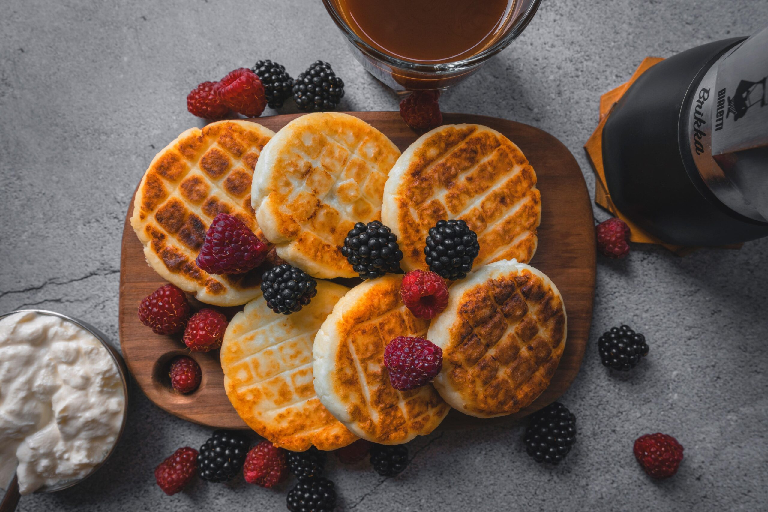 waffle tarifi ve makinesi