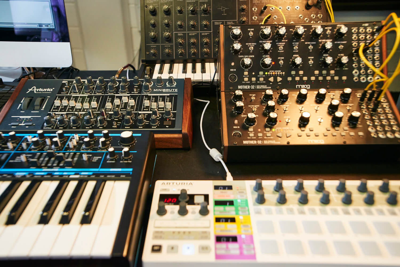 elektronik müzik ekipmanları