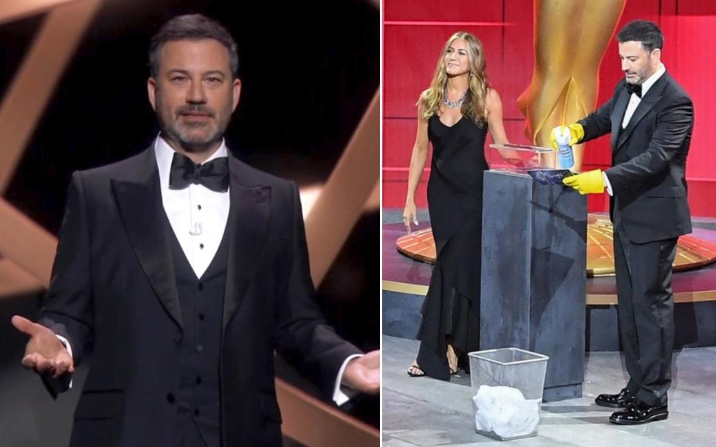 Jimmy Kimmel ve Jennifer Aniston
