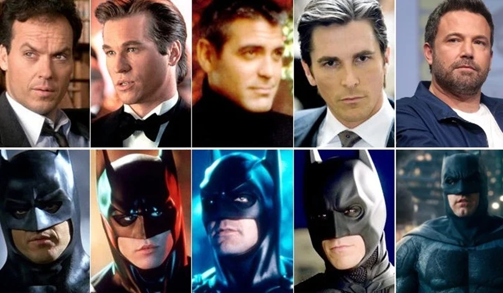 popüler karakterleri canlandıran oyuncular Batman oyuncuları