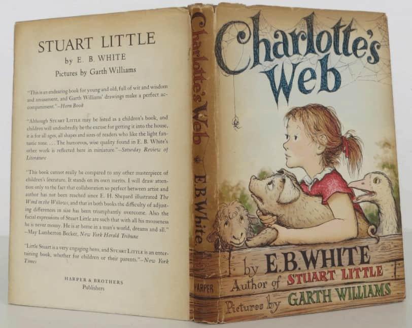 Charlotte'un Sevgi Ağı kitap