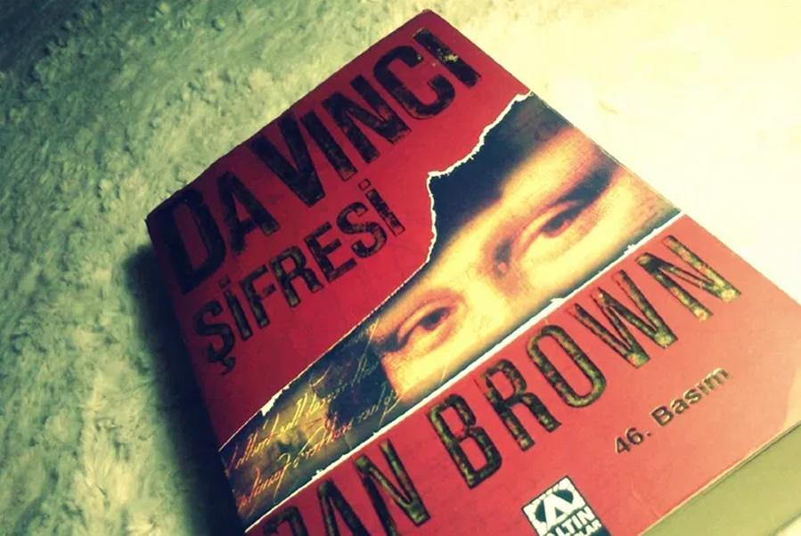 en çok okunan kitaplar Da Vinci Şifresi kitap