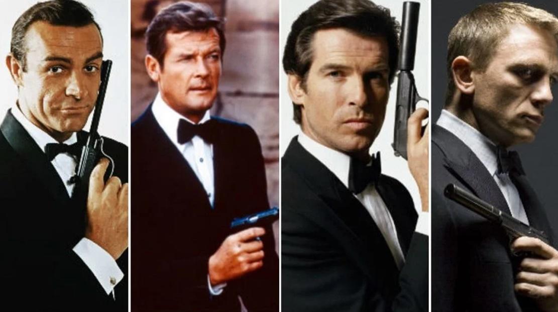 popüler karakterleri canlandıran oyuncular James Bond oyuncuları