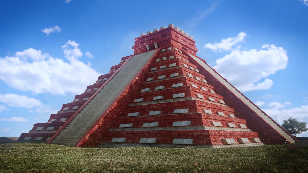 Kırmızı Maya piramidi