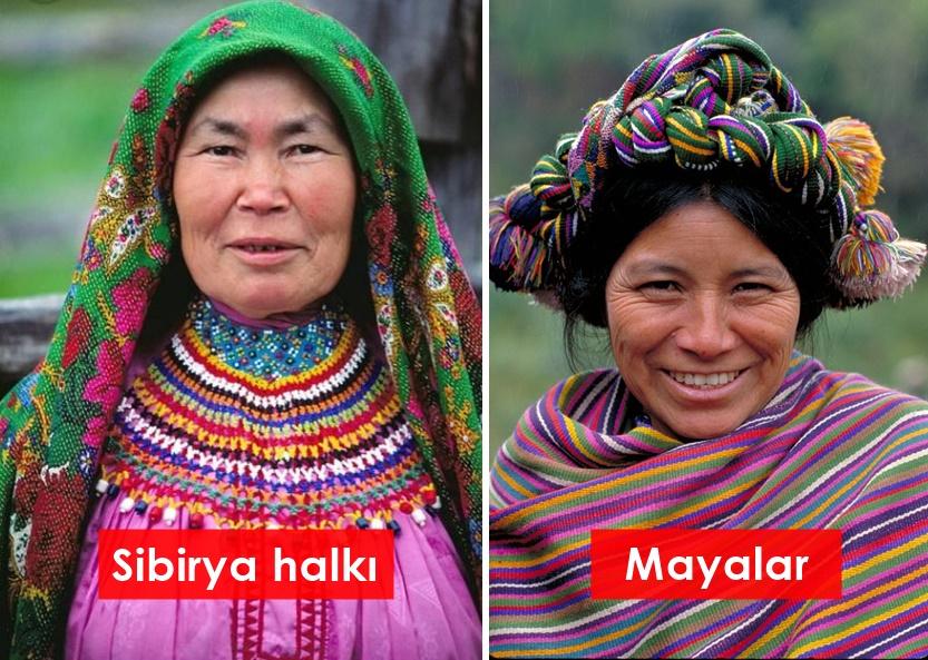 Sibirya halkı ve Mayalar