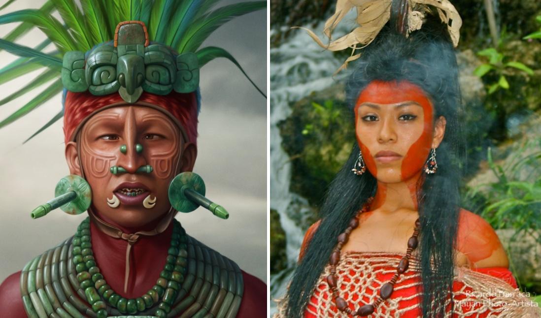 Mayalar hakkında ilginç bilgiler erkeği ve kadını