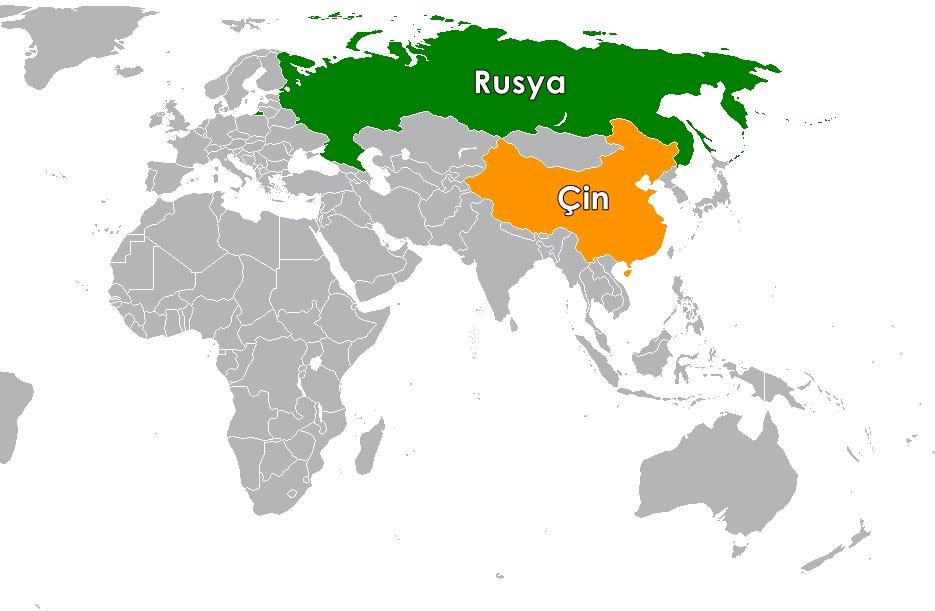 Dünyanın en kalabalık ülkesi Rusya ve Çin