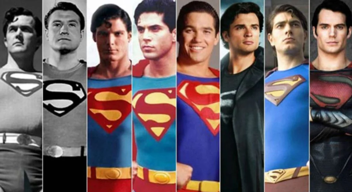 popüler karakterleri canlandıran oyuncular Superman oyuncuları