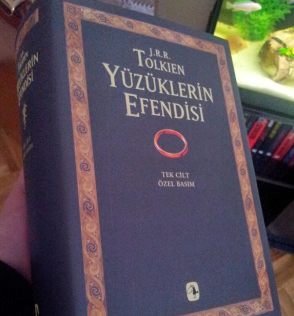 en çok okunan kitaplar Yüzüklerin Efendisi kitap