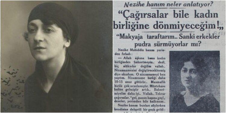 Osmanlı Feminizminin Unutulmuş Lideri: Nezihe Muhiddin
