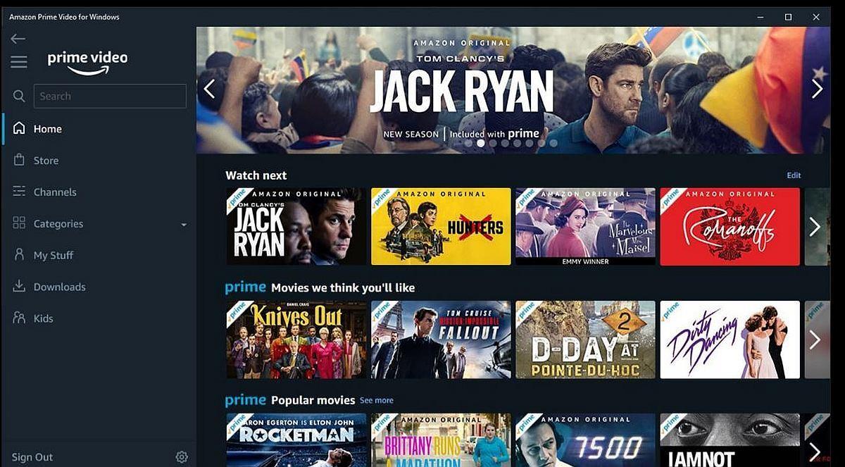 film ve dizi platformları Amazon Prime