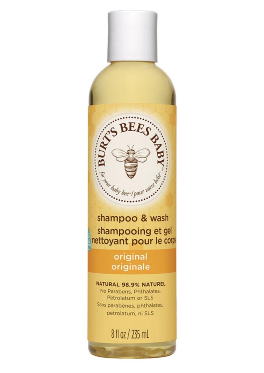 doğal bebek şampuanı