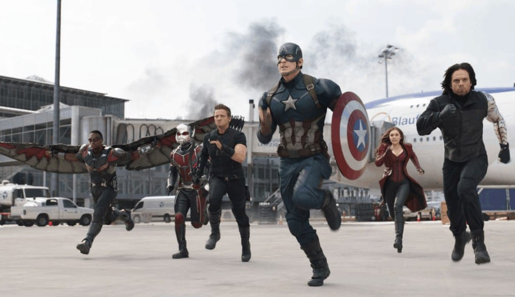 Robert Downey Jr filmleri Kaptan Amerika Kahramanların Savaşı