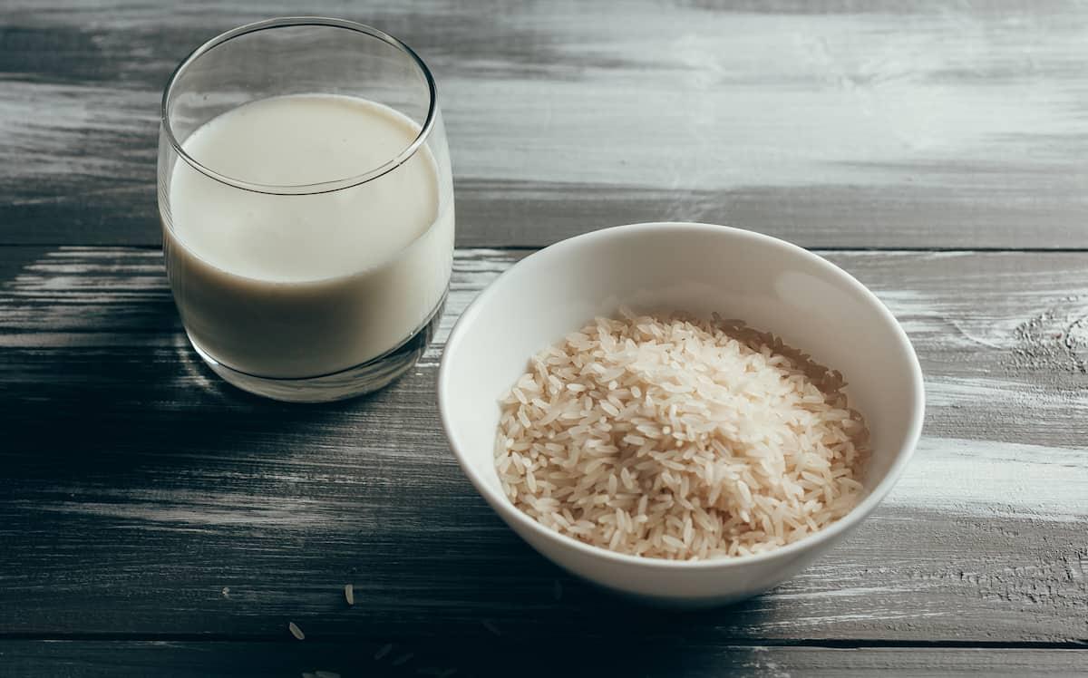 Bitkisel süt çeşitleri Pirinç sütü